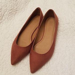1f63fbb2982 ASOS Mauve Pointed-toe Flats size 6